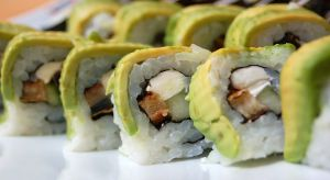 Avocado is frequently found on sushi rolls, making it the only reason I ever eat sushi.